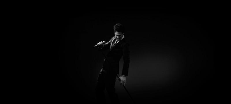 Singer in Suit