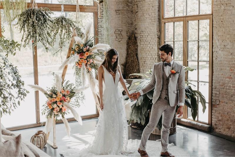 Bohemian wedding anno 2019: een originele interpretatie van de weddingtrends in deze styled shoot!